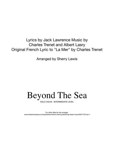 Beyond The Sea VIOLIN SOLO (for solo violin)