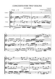 Bach 'Double' Violin Concerto - Vivace