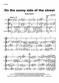 On the sunny side of the street - Jazz Classic - String Quartet