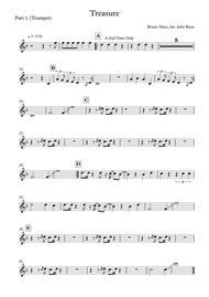 Treasure, Wedding Band Arrangement (Horns + Rhythm)