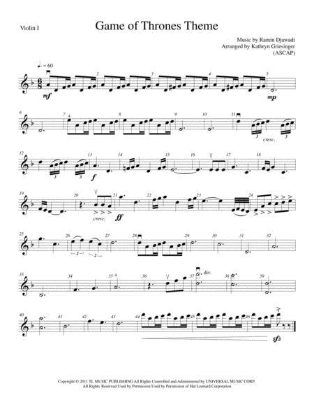 Game Of Thrones - String Quartet or Quintet