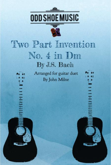 Bach 2 Part Invention No.4 for 2 guitars
