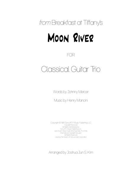 Moon River for Guitar Trio