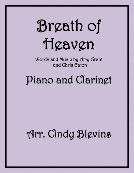 Breath Of Heaven (Mary's Song), arranged for Piano and Bb Clarinet