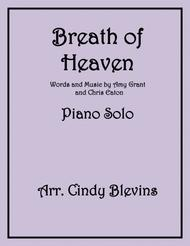 Breath Of Heaven (Mary's Song), arranged for Piano Solo