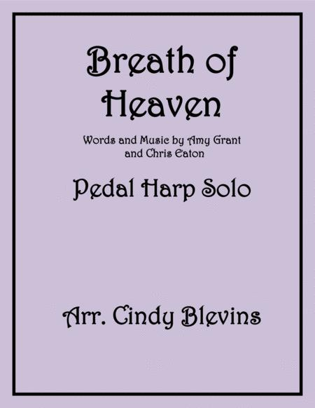 Breath Of Heaven (Mary's Song), arranged for Pedal Harp Solo