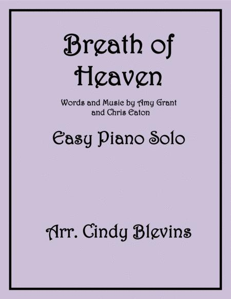 Breath Of Heaven (Mary's Song), arranged for Easy Piano Solo
