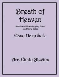Breath Of Heaven (Mary's Song), arranged for Easy Harp (lever or pedal harp)