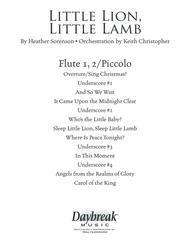 Little Lion, Little Lamb - Flute 1,2/Piccolo