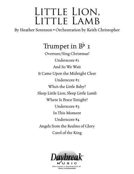 Little Lion, Little Lamb - Bb Trumpet 1