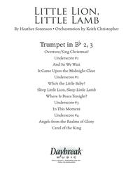 Little Lion, Little Lamb - Bb Trumpet 2,3