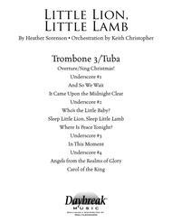 Little Lion, Little Lamb - Trombone 3/Tuba