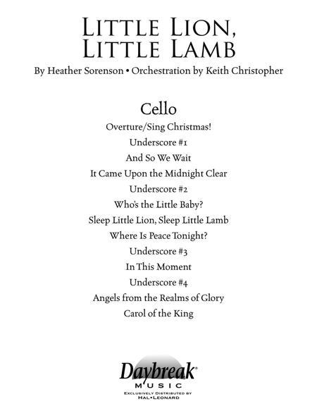 Little Lion, Little Lamb - Cello