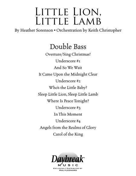 Little Lion, Little Lamb - Double Bass