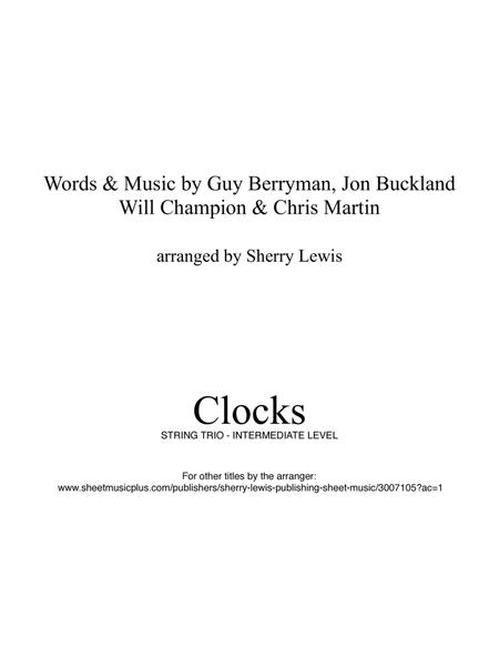 Clocks for STRING TRIO