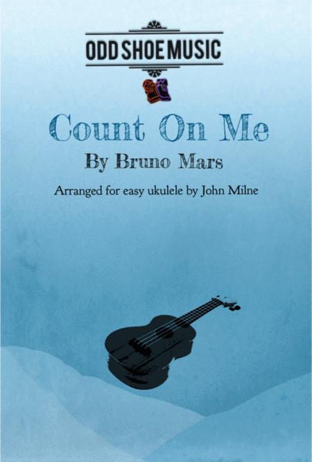 Count On Me for easy Ukulele and voice