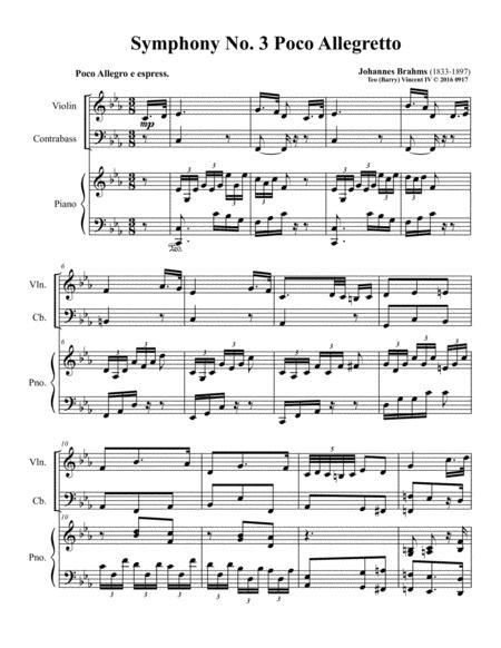 Symphony No.3, Op.90: III. Poco allegretto