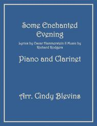Some Enchanted Evening, arranged for Piano and Bb Clarinet