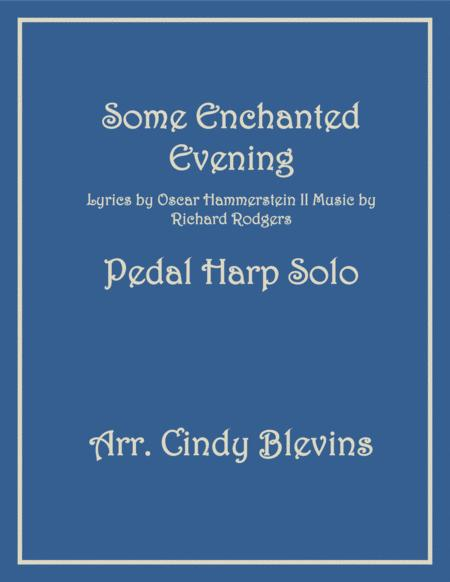 Some Enchanted Evening, arranged for Pedal Harp