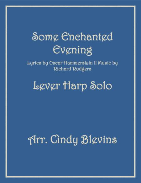 Some Enchanted Evening, arranged for Lever Harp