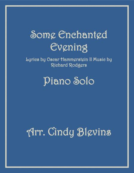 Some Enchanted Evening, Piano Solo