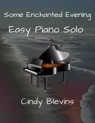 Some Enchanted Evening, Easy Piano Solo