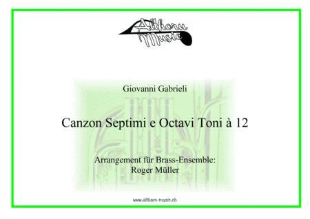 Canzon Septimi e Octavi Toni à 12