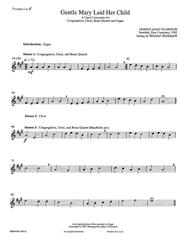 Gentle Mary Laid Her Child (Instrumental Parts)