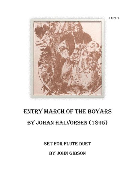 March of the Boyars - Two Flutes