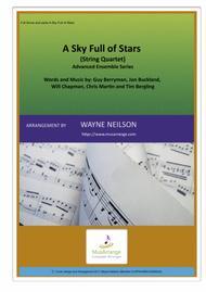 A Sky Full Of Stars for String Quartet