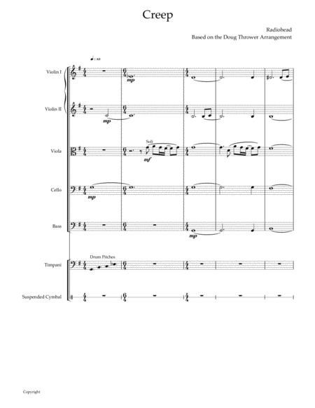 Creep (for String Orchestra and Percussion)