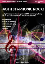 Mozart's 40th Symphonic Rock! (Flexi-Band Score & Parts)