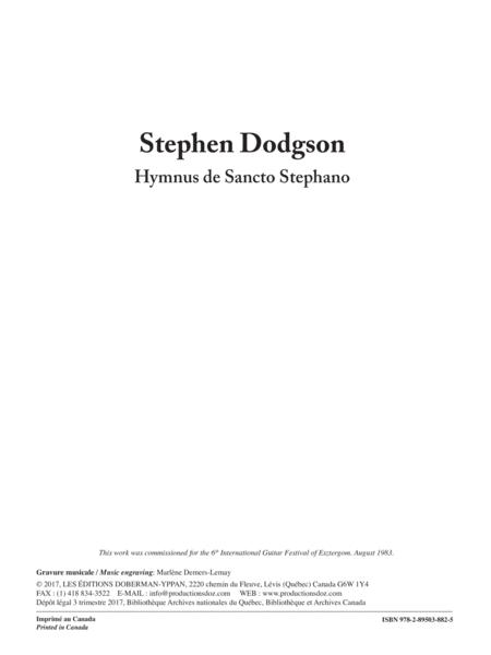 Hymnus de Sancto Stephano