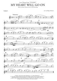 My Heart Will Go On (Love Theme from Titanic) for String Quartet