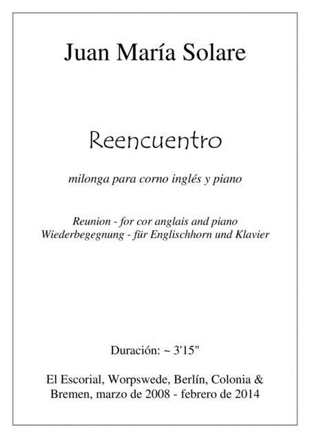 Reencuentro [cor anglais & piano]