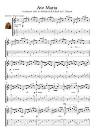 Ave Maria guitar solo Bach Gounod