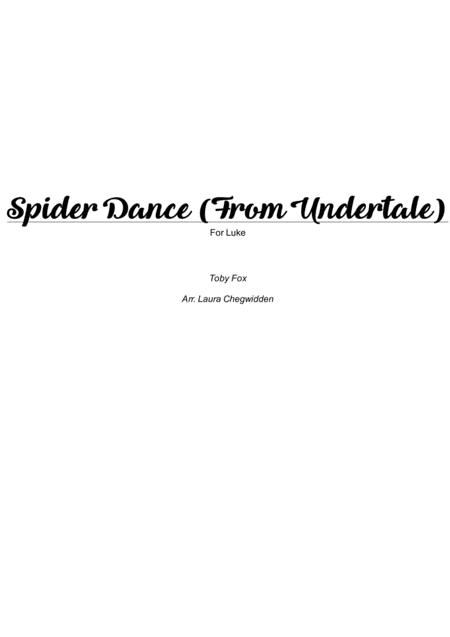 Spider Dance (from Undertale) for Easy* Piano