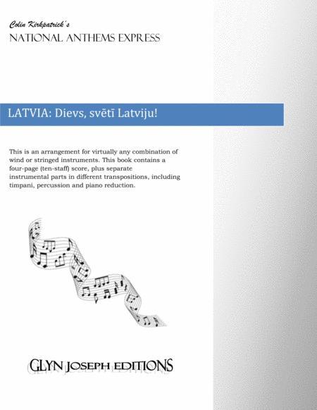 Latvia National Anthem: Dievs, svētī Latviju!