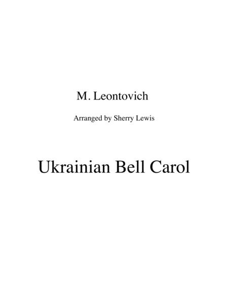 Ukrainian Bell Carol (Carol of the Bells) for STRING DUO