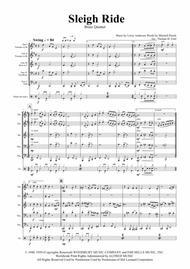 Sleigh Ride - Easy Swing - Brass Quintet