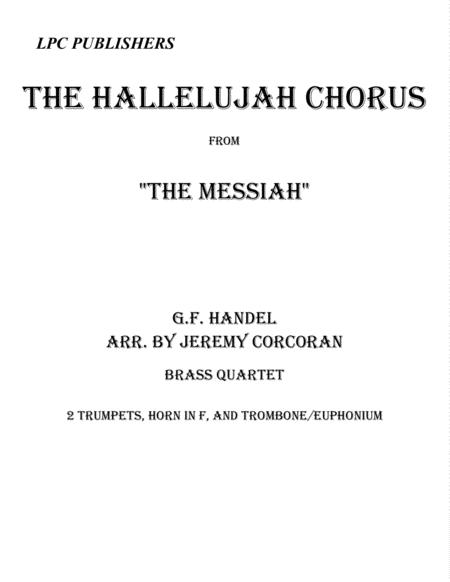 The Hallelujah Chorus for Brass Quartet