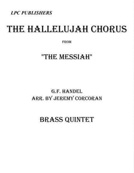 The Hallelujah Chorus for Brass Quintet