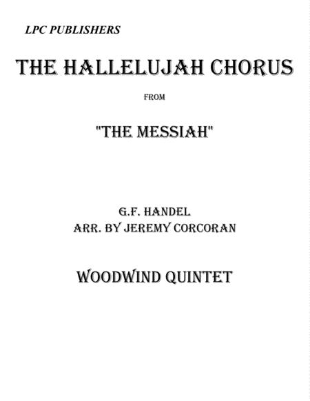 The Hallelujah Chorus for Woodwind Quintet