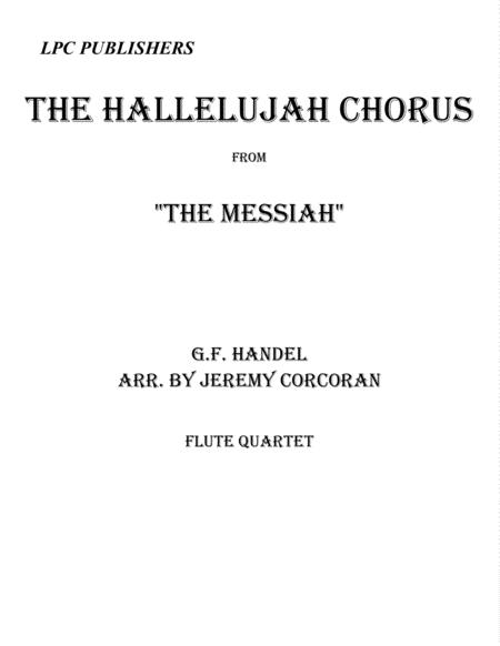The Hallelujah Chorus for Flute Quartet