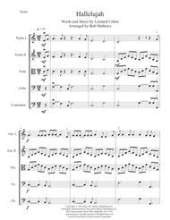 Hallelujah for String Orchestra