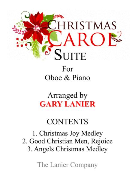 CHRISTMAS CAROL SUITE (Oboe and Piano with Score & Parts)