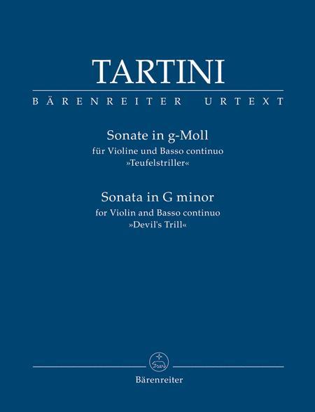 Sonata for Violin and Basso continuo in G Minor -