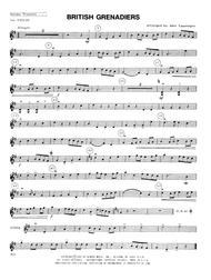 British Grenadiers - 1st Violin