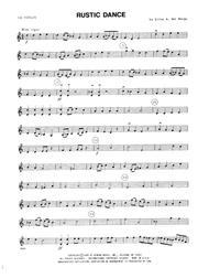Rustic Dance - 1st Violin