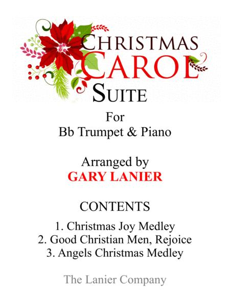 CHRISTMAS CAROL SUITE (Bb Trumpet and Piano with Score & Parts)